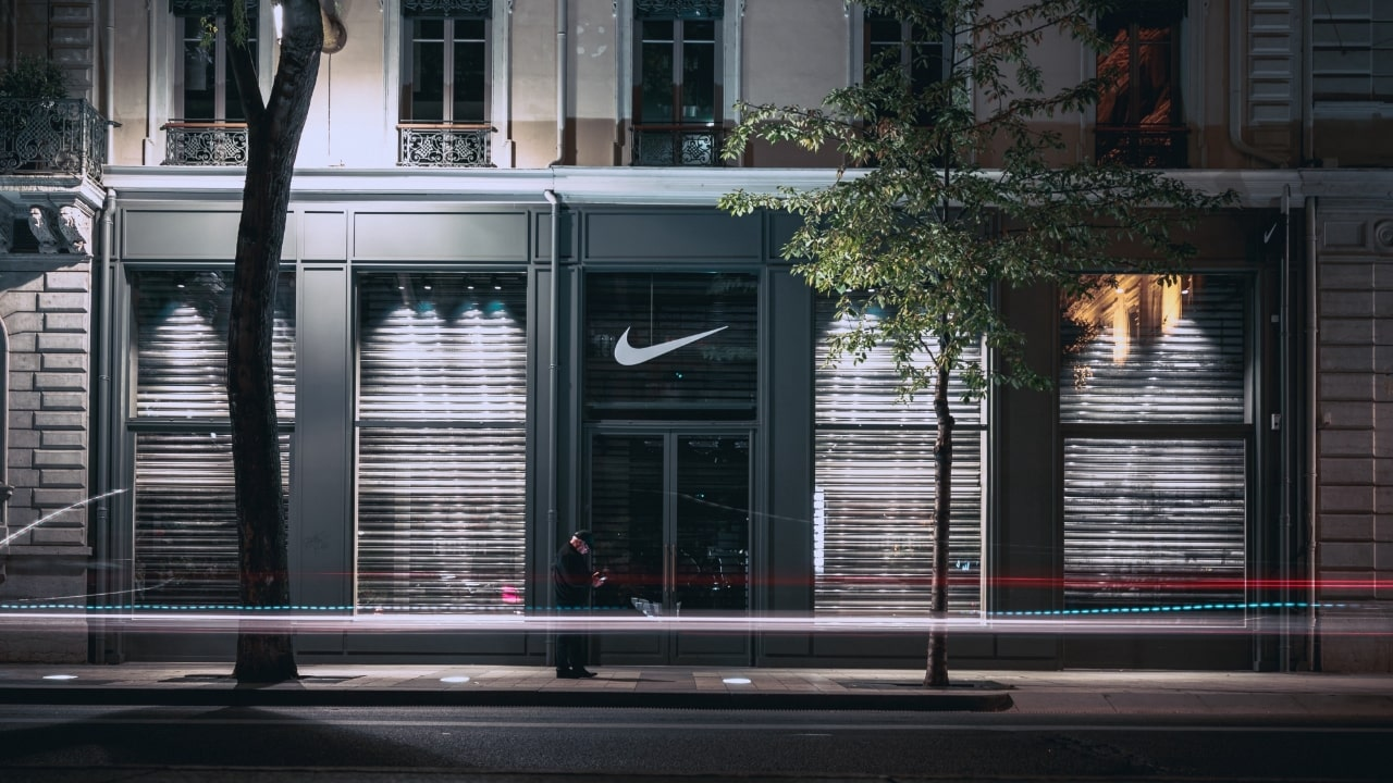 Photo from outside a Nike store